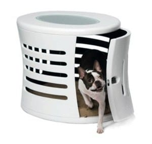 Modern Dog House and Side Table