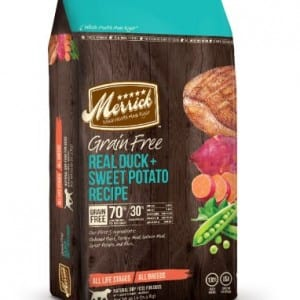 Merrick Grain Free Dog Food - Real Duck and Sweet Potato