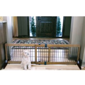 Extra Wide Free Standing Pet Gate