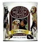 Gimborn Pro-Treat Freeze Dried Beef Liver Training Treats for Dogs