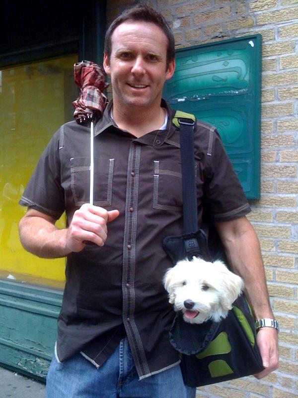 Kobi's Favorite Day and Travel Dog Bag Dogsized