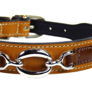Hartman and Rose Hartman Collection Leather Dog Collar