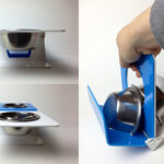 Modern Dog Bowls by Drip Module Dogsized