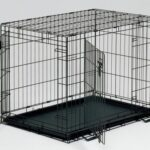 Midwest Life Stages Double-Door Folding Metal Dog Crate 2