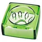 Felli-Pet, Kristal Dog Bowl - Good Manners, Jade