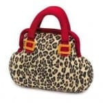 Leopard Purse Dog Toy