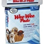 Four Paws Wee-Wee Puppy Housebreaking Pads, 7-Pack