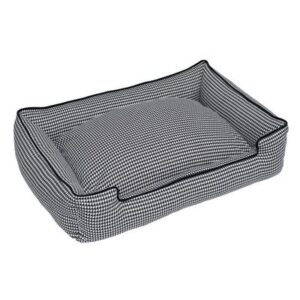 Houndstooth Dog Bed