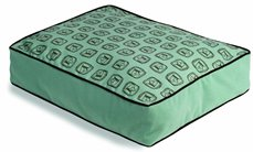 crypton dog bed aqua