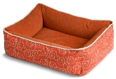 crypton dog bed persimmon