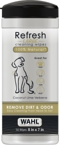 Wahl Pet Cleaning wipes
