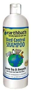 Earthbath Shed Control Shampoo and Conditioner Dogsized