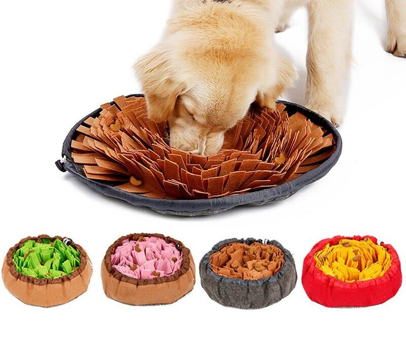 Dog Sniffing Mat Pet Puzzle Toy